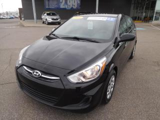 Used 2016 Hyundai Accent HB,GL,A/C,BLUETOOTH,BANCS,CRUISE,VITRES +++ for sale in Mirabel, QC