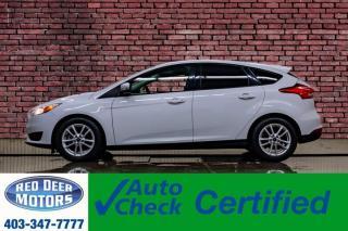Used 2017 Ford Focus SE Hatchback BCam for sale in Red Deer, AB