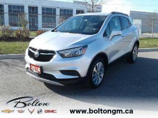 Used 2018 Buick Encore Preferred -  Cruise Control for sale in Bolton, ON