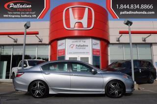 Used 2016 Honda Accord Sedan Sport w/Honda Sensing - FREE WINTER TIRES - for sale in Sudbury, ON