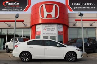Used 2015 Honda Civic Sedan Touring - FREE WINTER TIRES - for sale in Sudbury, ON