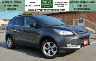 Used 2015 Ford Escape SE | NO ACCIDENTS | 4x4 Heated Seats Bluetooth Backup Cam Nav for sale in Belle River, ON