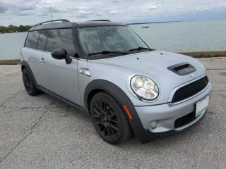 Used 2010 MINI Cooper Clubman S Low K's Heated Leather Moon Roof Bluetooth for sale in Belle River, ON