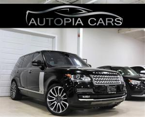 Used 2016 Land Rover Range Rover 4WD 4dr SC Autobiography LWB for sale in North York, ON