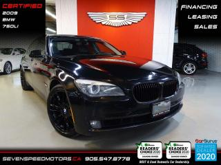 Used 2009 BMW 7 Series 750LI | DVD | ACCIDENT FREE | FINANCE @ 4.65% for sale in Oakville, ON