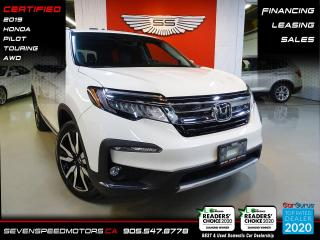 Used 2019 Honda Pilot TOURING DVD | 7PASS | ACCIDENT FREE | FINANCE @ 4.65% for sale in Oakville, ON