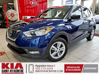 Used 2019 Nissan Kicks S ** CAMÉRA DE RECUL / BLUETOOTH for sale in St-Hyacinthe, QC