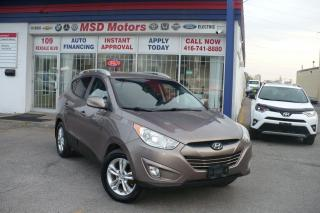 Used 2013 Hyundai Tucson GLS for sale in Toronto, ON