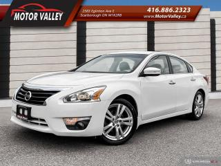 Used 2013 Nissan Altima 3.5 SL Tech Pkg - 081,233KM - NAVIGATION/LEATHER! for sale in Scarborough, ON
