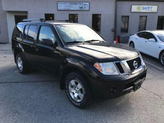 Used 2011 Nissan Pathfinder S,4X4,NO ACCIDENTS,EXCELLENT COND.,CERTIFIED ! for sale in Burlington, ON