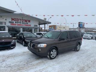 Used 2009 Pontiac Montana Sv6 w/1SA for sale in Regina, SK
