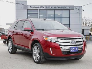 Used 2013 Ford Edge SEL PANO ROOF | BACKUP CAM | NAV for sale in Winnipeg, MB