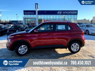 New 2021 Hyundai Venue Preferred - Heated Steering, Remote Start, Blind Spot Monitor/Lane Keep Assist, Push Button for sale in Edmonton, AB