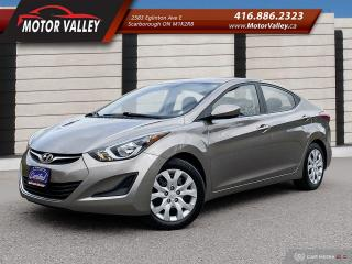 Used 2015 Hyundai Elantra GL ONLY 086,292KM 1-OWNER - NO ACCIDENT! for sale in Scarborough, ON