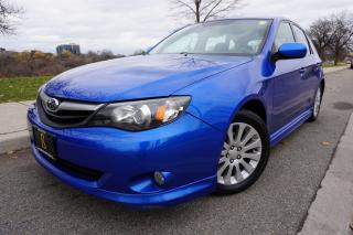 Used 2010 Subaru Impreza 1 OWNER / SUNROOF / LOCALLY OWNED / SPORTY / CLEAN for sale in Etobicoke, ON