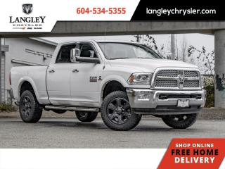 Used 2017 RAM 3500 Laramie  Accident Free/ Locally Driven/ Loaded for sale in Surrey, BC
