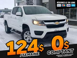 Used 2017 Chevrolet Colorado LT V6 4X4  CREW CAB for sale in Ste-Marie, QC