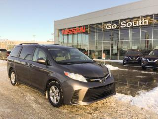Used 2019 Toyota Sienna LE, 8 PASSENGER, AUTO for sale in Edmonton, AB