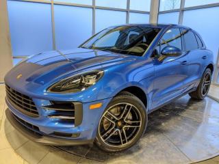 New 2021 Porsche Macan DEMO for sale in Edmonton, AB