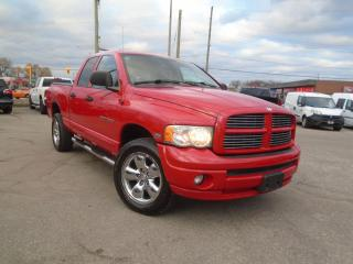 Used 2005 Dodge Ram 1500 AUTO 4WD HEMI LARIMIE LEATHER NEW TIRES, MUFLER for sale in Oakville, ON