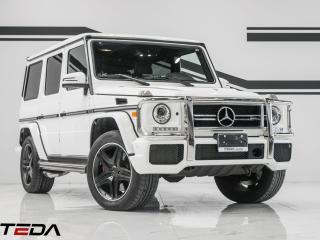 Used 2017 Mercedes-Benz G-Class AMG G 63 for sale in North York, ON