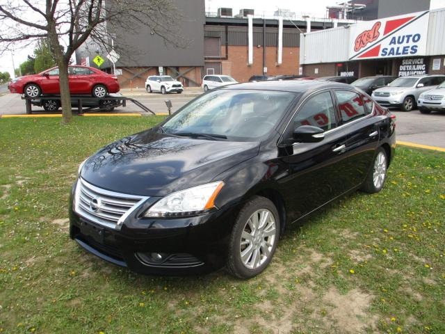 2014 Nissan Sentra SL ~ LEATHER ~ SUNROOF ~ WINTER TIRES ~ LOW KM