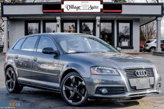 Used 2013 Audi A3 S-Line, Progressiv for sale in Ancaster, ON