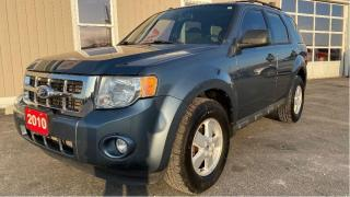 Used 2010 Ford Escape XLT for sale in Tilbury, ON