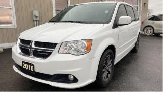 Used 2016 Dodge Grand Caravan SXT Premium Plus for sale in Tilbury, ON