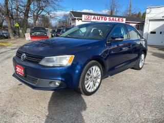Used 2011 Volkswagen Jetta SEL PZEV/Automatic/Leather/Navi/Bluetooth for sale in Scarborough, ON