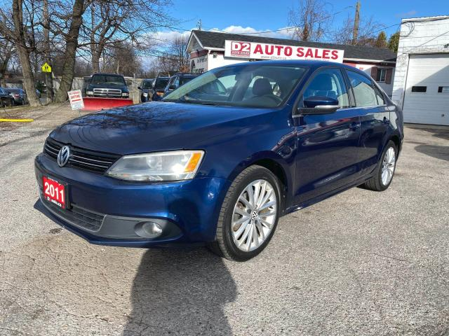 2011 Volkswagen Jetta SEL PZEV/Automatic/Leather/Navi/Bluetooth