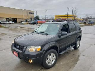 Used 2007 Ford Escape Limited, 4WD, Low KM, Auto, 3/Y warranty availa for sale in Toronto, ON