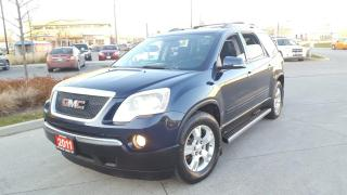 Used 2011 GMC Acadia 7 Pass, Double Sunroof, 3 Years Warranty Availa for sale in Toronto, ON