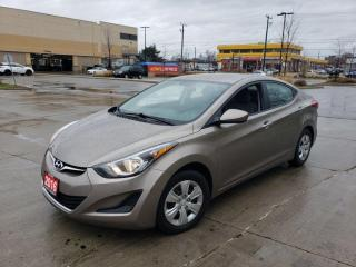 Used 2016 Hyundai Elantra Only 71000 km, 4 Door,  warranty available for sale in Toronto, ON