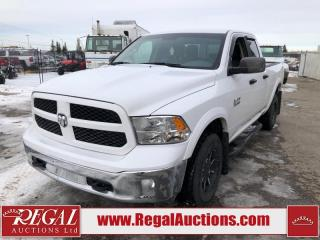 Used 2017 RAM 1500 Outdoorsman Quad CAB SWB 4WD 3.6L for sale in Calgary, AB