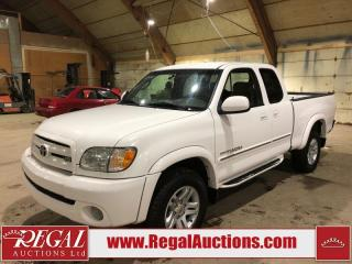 Used 2004 Toyota Tundra 4D ACCESS CAB 4WD for sale in Calgary, AB