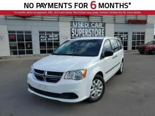 Used 2016 Dodge Grand Caravan SE, Canadian Value Package, 7 Passenger, ONE Owner for sale in Niagara Falls, ON