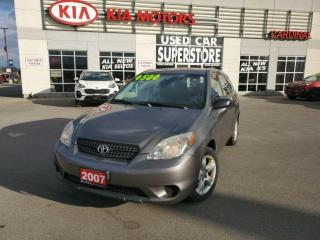 Used 2007 Toyota Matrix ONE Owner, NO Accidents, 5 Speed Manual. for sale in Niagara Falls, ON
