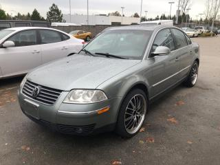 Used 2004 Volkswagen Passat Sedan GLS for sale in Surrey, BC