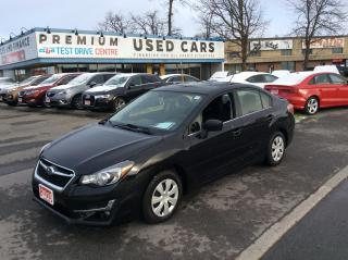 Used 2016 Subaru Impreza 5 SPEED MANUAL - A/C - BACK UP CAMERA! for sale in Ottawa, ON