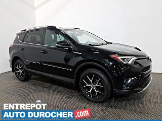 Used 2016 Toyota RAV4 SE AWD NAVIGATION - Toit Ouvrant - A/C - Cuir for sale in Laval, QC
