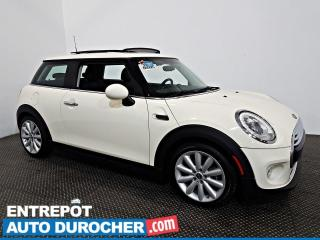 Used 2016 MINI Cooper toit rigide Automatique - Toit Ouvrant - A/C - CUIR for sale in Laval, QC