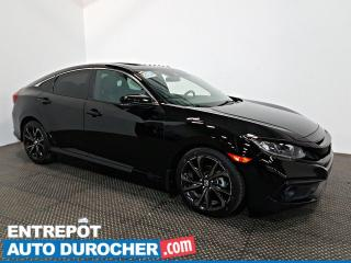 Used 2019 Honda Civic Berline Sport Toit Ouvrant - Automatique - A/C - for sale in Laval, QC