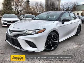 Used 2018 Toyota Camry XSE V6 LEATHER  ROOF  BLIS  ADAPTIVE CRUISE  HTD S for sale in Ottawa, ON