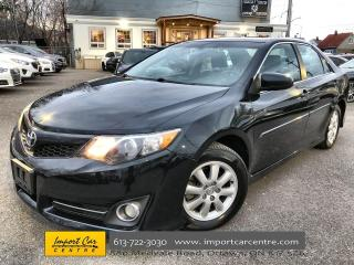 Used 2014 Toyota Camry SE LEATHER  ROOF  NAVI  HTD SEATS  BACKUP CAMERA for sale in Ottawa, ON