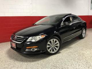 Used 2010 Volkswagen Passat CC DSG SPORTLINE PANORAMIC SUNROOF BLUETOOTH LOCAL CLEAN CARFAX for sale in North York, ON