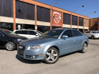 Used 2006 Audi A4 2.0T QUATTRO XENON's SUNROOF NO CLAIMS for sale in North York, ON
