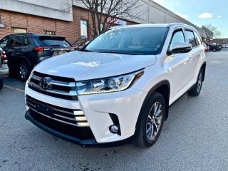 Used 2019 Toyota Highlander AWD XLE, 8 PASSENGER, LEATHER, SUNROOF, NAVIGATION for sale in North York, ON