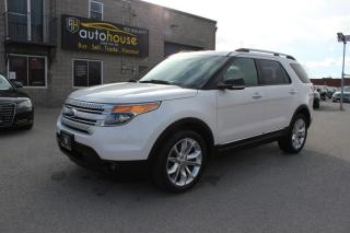 Used 2014 Ford Explorer 4WD / XLT / LEATHER / NAVIGATION / BACKUP CAMERA / 7 PASS / for sale in Newmarket, ON