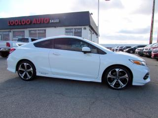 Used 2014 Honda Civic Si Coupe 6-Speed Manual Navigation Camera Certified for sale in Milton, ON